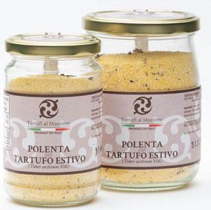 200g Polenta mit Piemont- Sommertrüffel