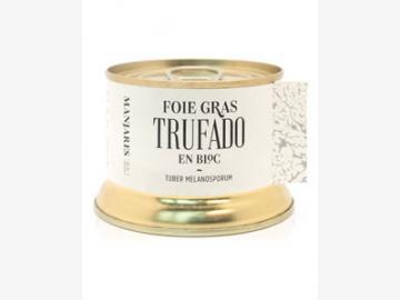 130g Block de Foie Gras mit Trüffel
