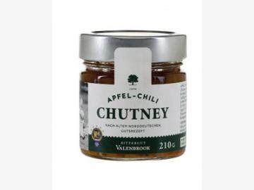 Apfel-Chilli Chutney