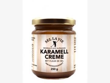 Salz Karamell Creme