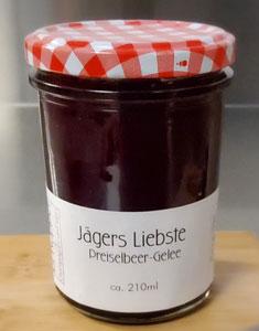 210ml Preiselbeer-Cranberry-Gelee