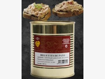 800g Rillettes de Pato Entenrillette