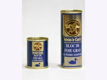 95g Block de Foie Gras mit Sherry