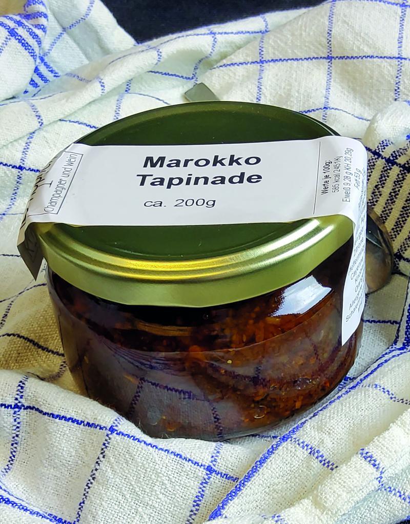 Marokkanische Tapinade 200g